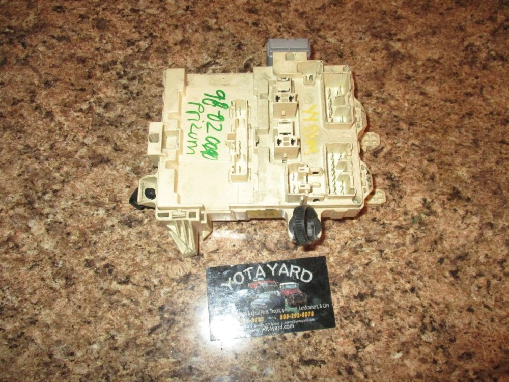 medium resolution of 98 02 toyota corolla interior fuse box block and similar items 2004 toyota corolla fuse box