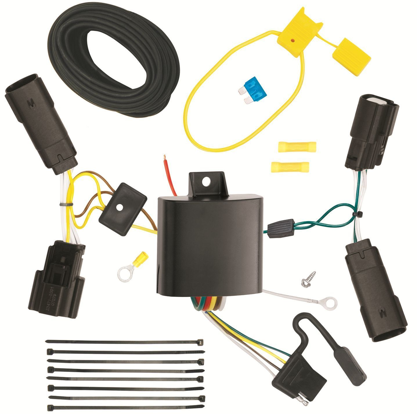 hight resolution of trailer wiring harness kit for 13 19 ford and similar items s l1600