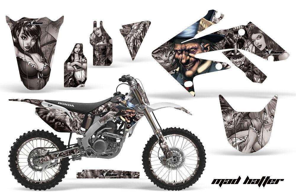 Adhesivo Juego Pegatina Wrap + # Placas para Honda Crf250r
