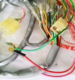 honda s90 zk1 cl90 zk1 wire harness nos [ 1280 x 720 Pixel ]