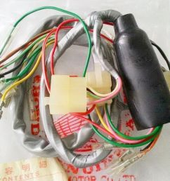 honda s90 zk1 cl90 zk1 wire harness nos [ 1158 x 719 Pixel ]