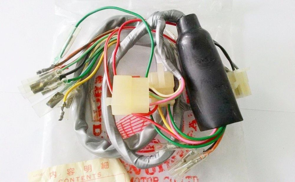 medium resolution of honda s90 zk1 cl90 zk1 wire harness nos