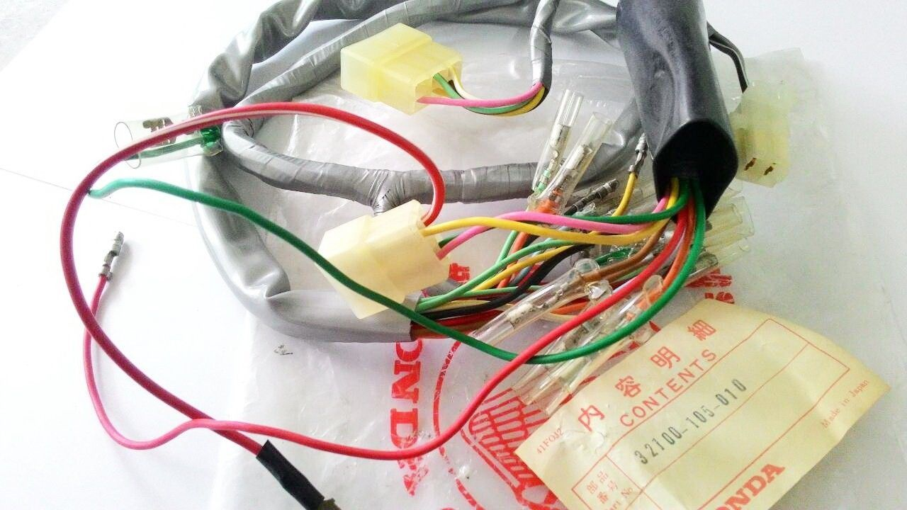 hight resolution of honda s90 zk1 cl90 zk1 wire harness nos