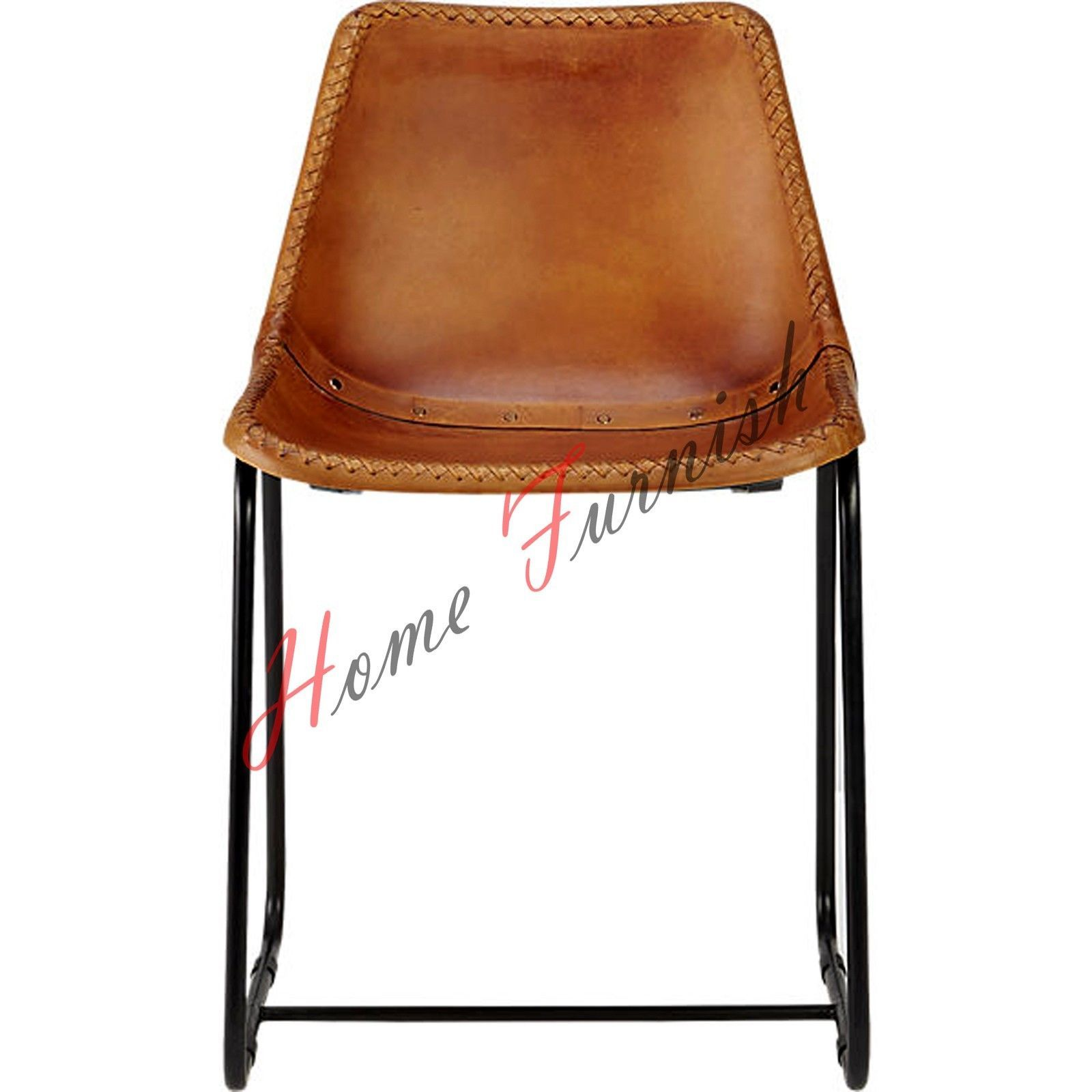 industrial style dining chairs wedding hire london 4 chair leather brown