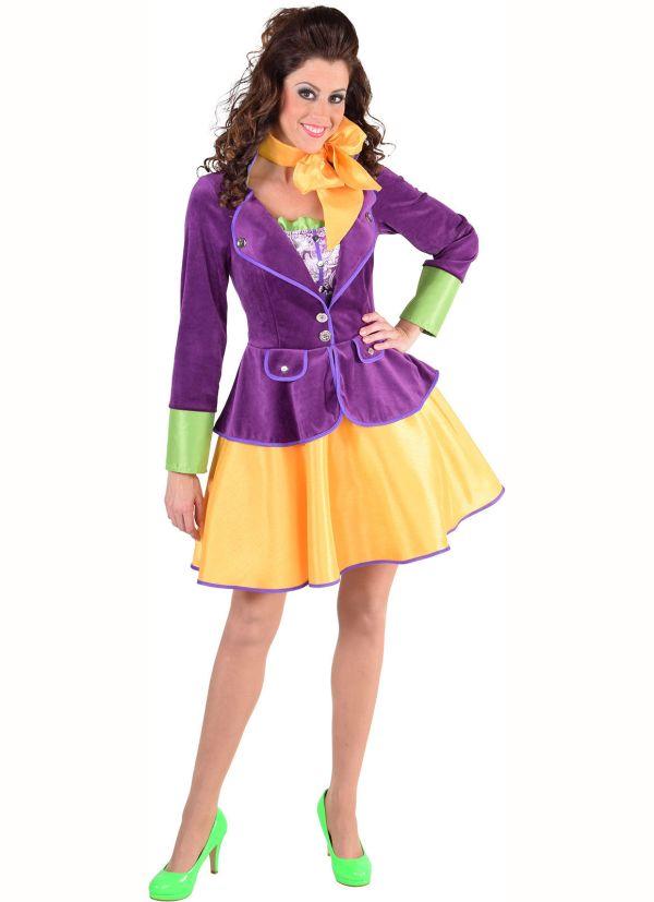 Female Willy Wonka Entertainers Costume Sizes 6 -22