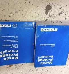 2002 mazda protege service repair workshop shop manual oem factory set w ewd oem [ 1600 x 1600 Pixel ]