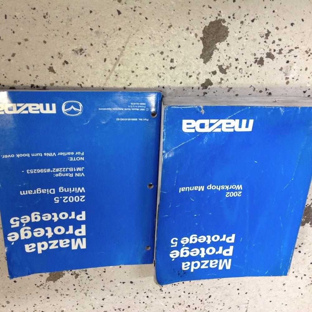 medium resolution of 2002 mazda protege service repair workshop shop manual oem factory set w ewd oem