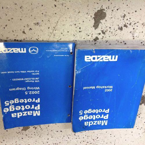 small resolution of 2002 mazda protege service repair workshop shop manual oem factory set w ewd oem
