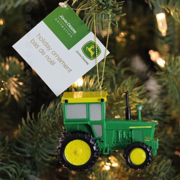 John Deere 1964 Model 4020 Tractor Christmas Tree Ornament