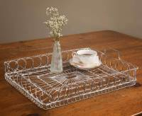 Vintage Rustic Wire Serving Tray Tea Coffee and 12 similar ...
