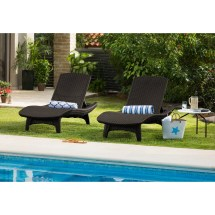 Chaise Lounges Table Set Outdoor Patio Pool Furniture 3 Pc