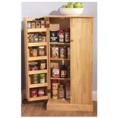 Kitchen Storage Cabinet Delta Faucet Parts List Pantry Utility Home Wooden