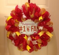 Usc Trojans Wreath Ncaa College Door wall Hanger ...