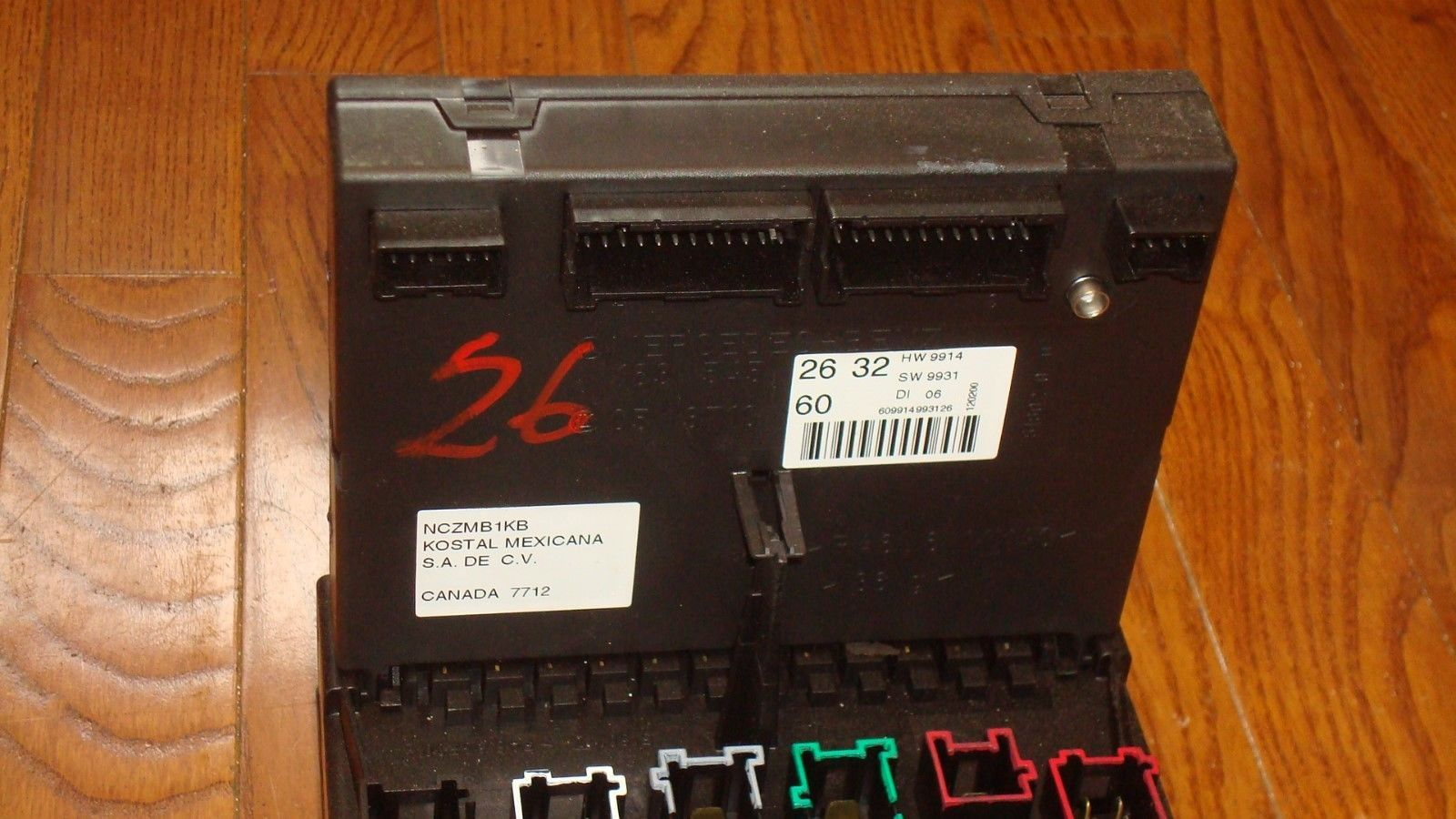 hight resolution of mercedes benz w163 ml320 ml430 oem main fuse box relay panel a1635450205