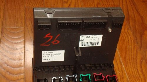 small resolution of mercedes benz w163 ml320 ml430 oem main fuse box relay panel a1635450205