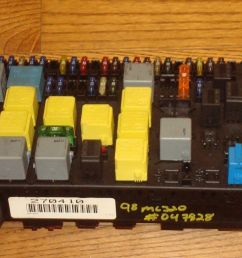 mercedes benz w163 ml320 ml430 oem main fuse box relay panel a1635450205 mercedes  [ 1600 x 900 Pixel ]