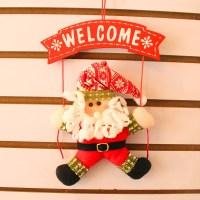 Feliz Navidad Christmas Decorations For Home PLATE IN Door ...