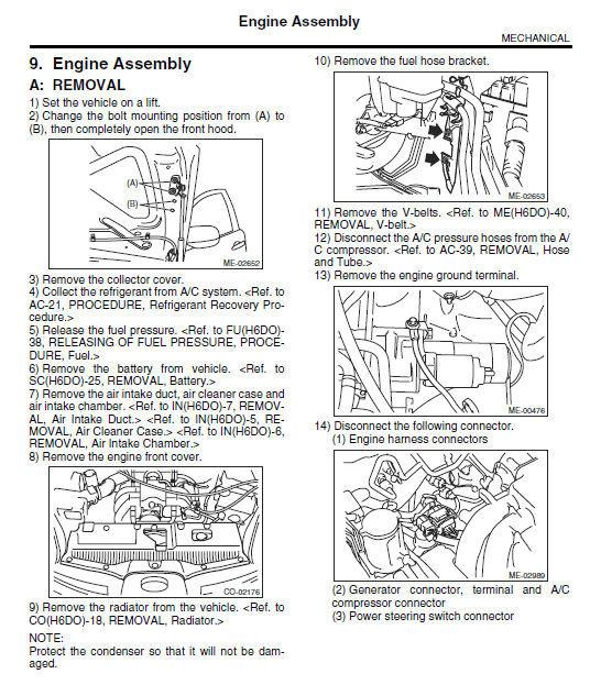 Service manual [2007 Subaru B9 Tribeca Transmission Repair