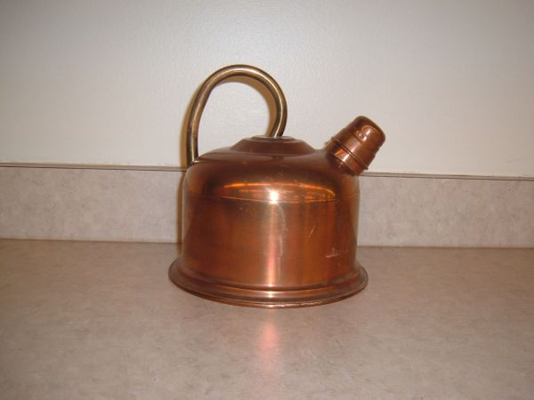 Solid Copper Tea Kettle In Portugal And 50 Similar Items