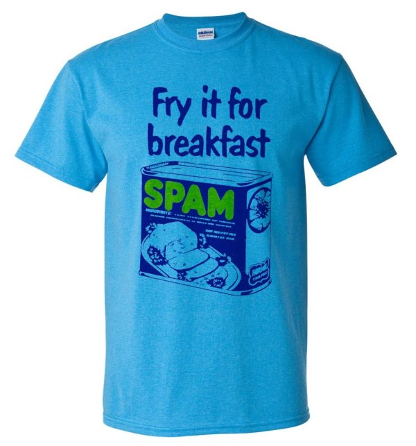 Spam T-shirt Free Shipping Retro 80' Vintage Style