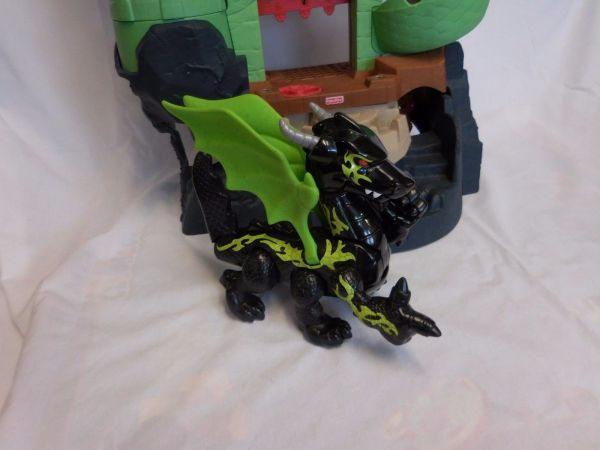 Fisher Imaginext Dragon World Castle Fortress