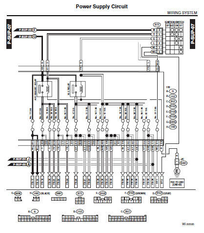 2006 Subaru Forester Belt Diagram 2007 Subaru Tribeca Belt