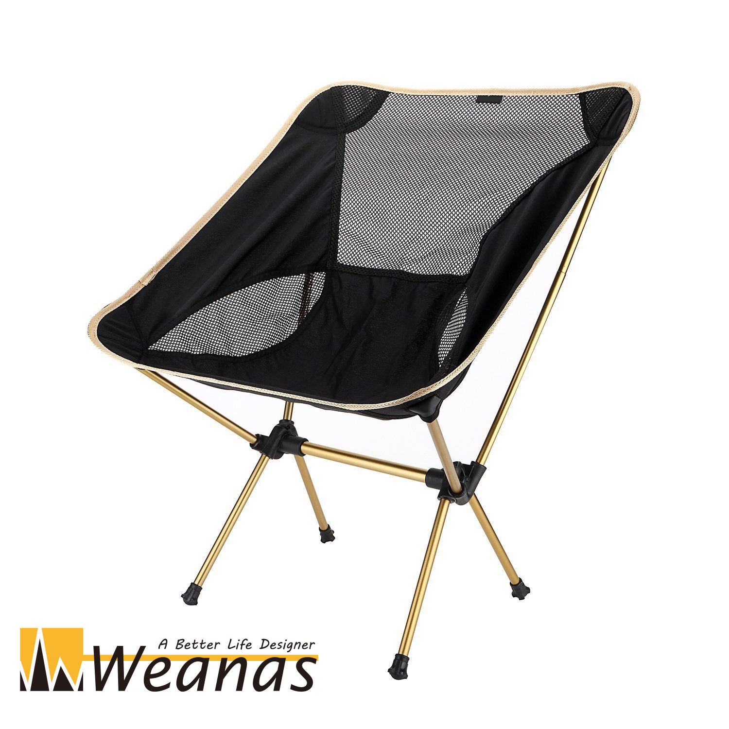 Heavy Duty Outdoor Folding Chairs Weanas Portable Collapsible Heavy Duty Camping Chair