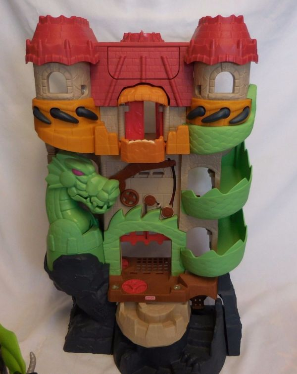 Fisher Imaginext Dragon World Castle And 40 Similar