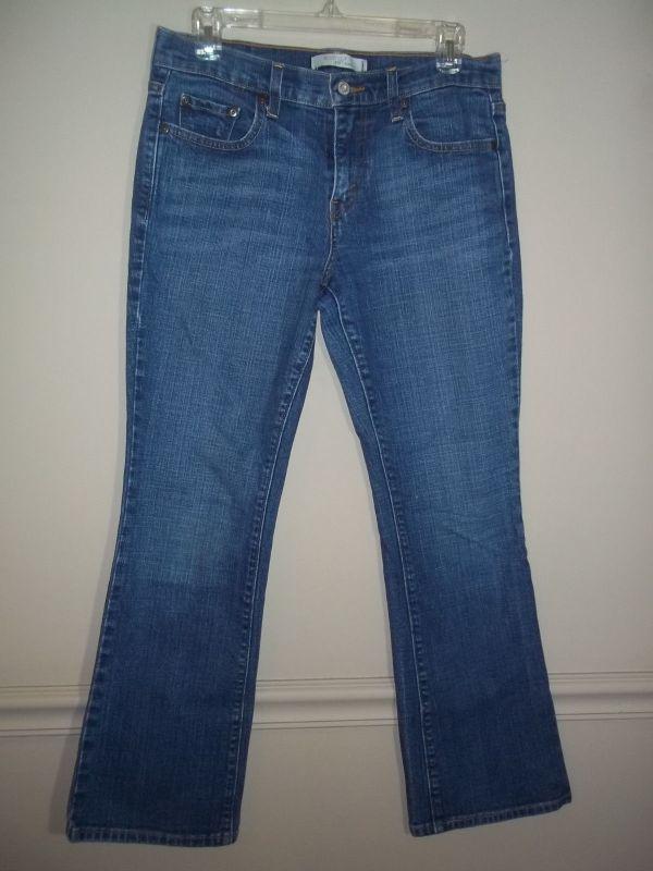 Womens 515 Levis Denim Bootcut Jeans Stretch Sz 6