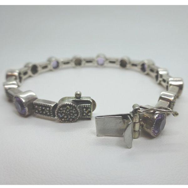 Judith Jack Art Deco Style Vintage Bracelet Marcasite