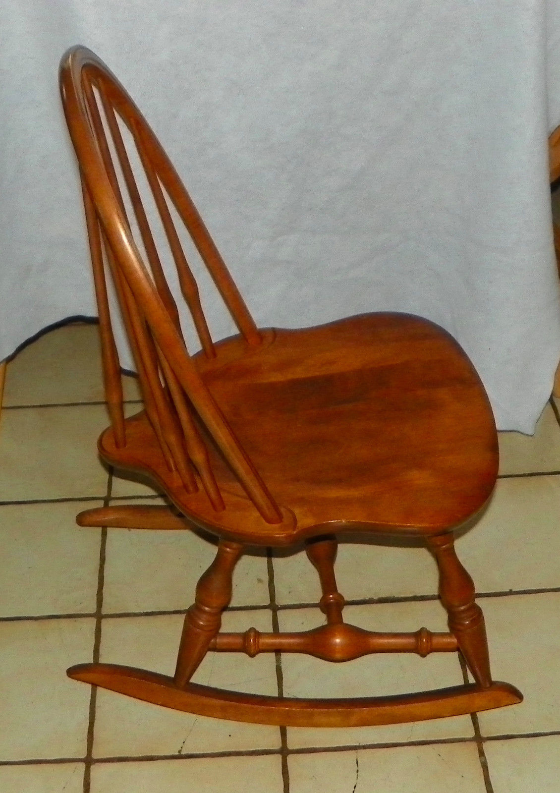 maple rocking chair metal rail nichols and stone sewing rocker 50 similar items