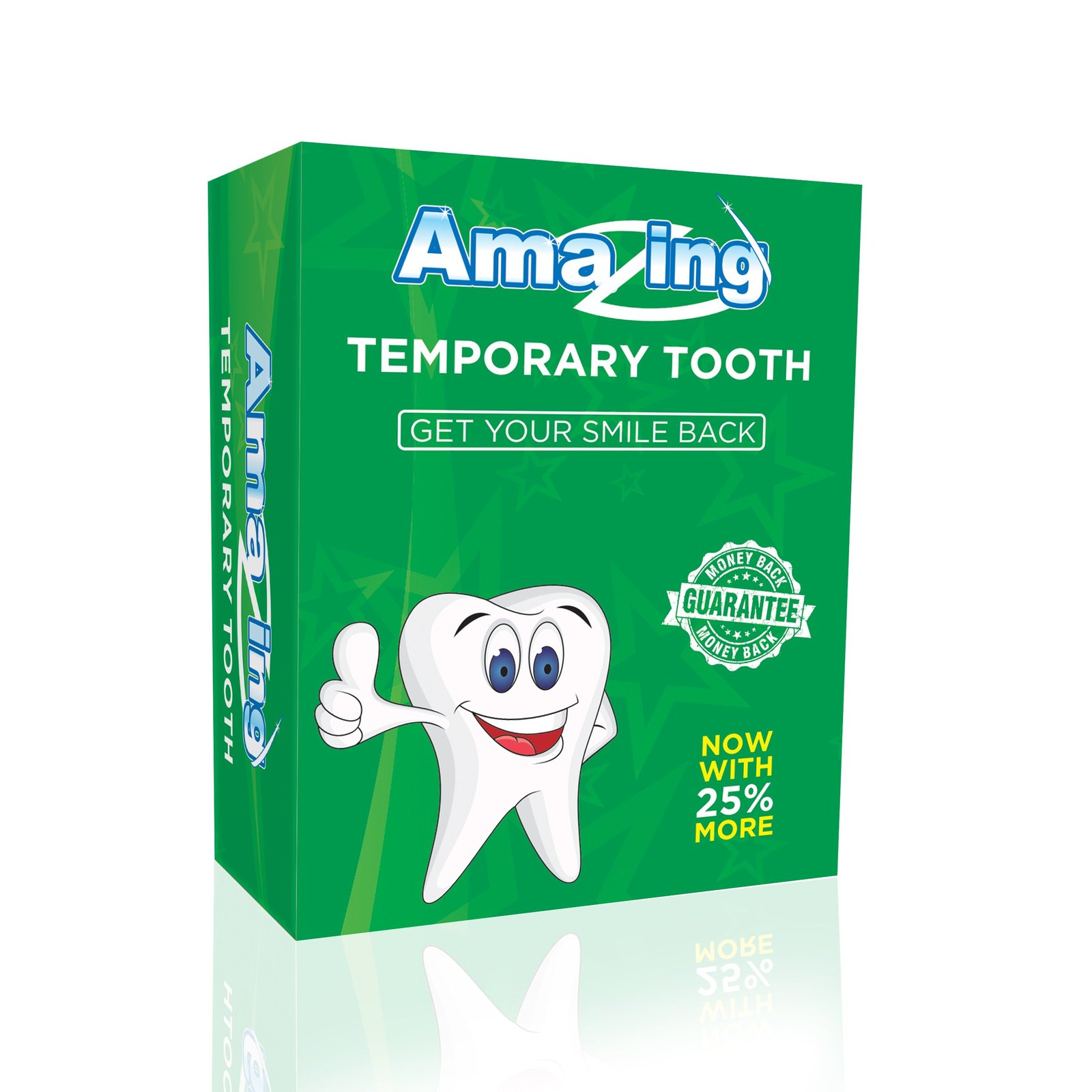 Amazing Temporary Tooth X 2 Diy Tooth Replacement Kits
