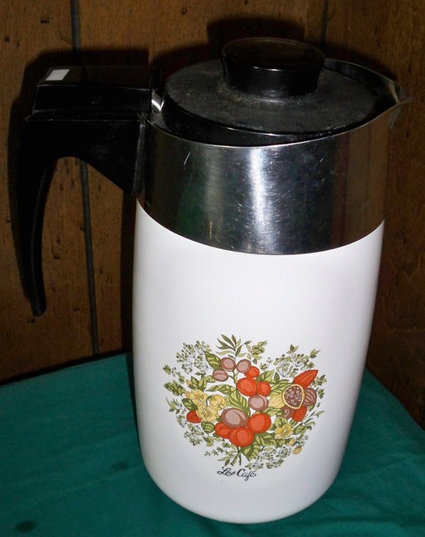 Vintage Corning Ware Percolator 10-Cup