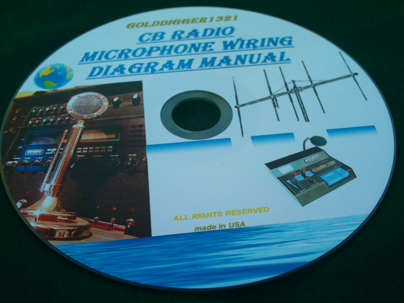 hight resolution of cb radio microphone wiring diagram manual on cd