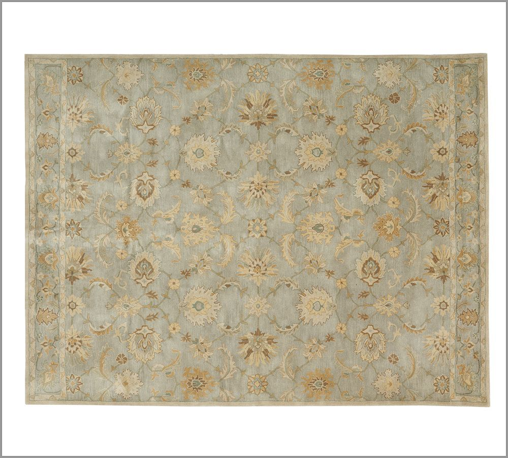 Sale Brand New Pottery Barn GABRIELLE Persian Style Woolen Area Rug Carpet 9x12  Rugs  Carpets