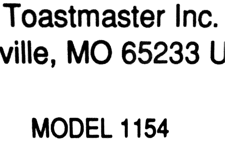 Kneading Paddle Fits Toastmaster Model 1154 Bread Box