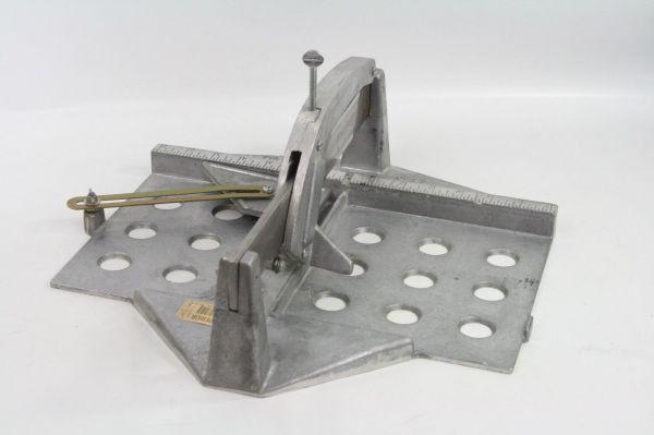 Vtg Cast Aluminum Superior Tile Cutter In Usa #82-10