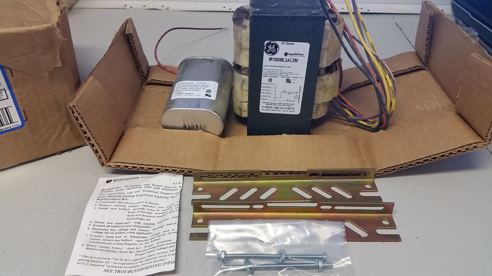 hight resolution of 1000 watt metal halide ballast kit new and 33 similar items s l1600