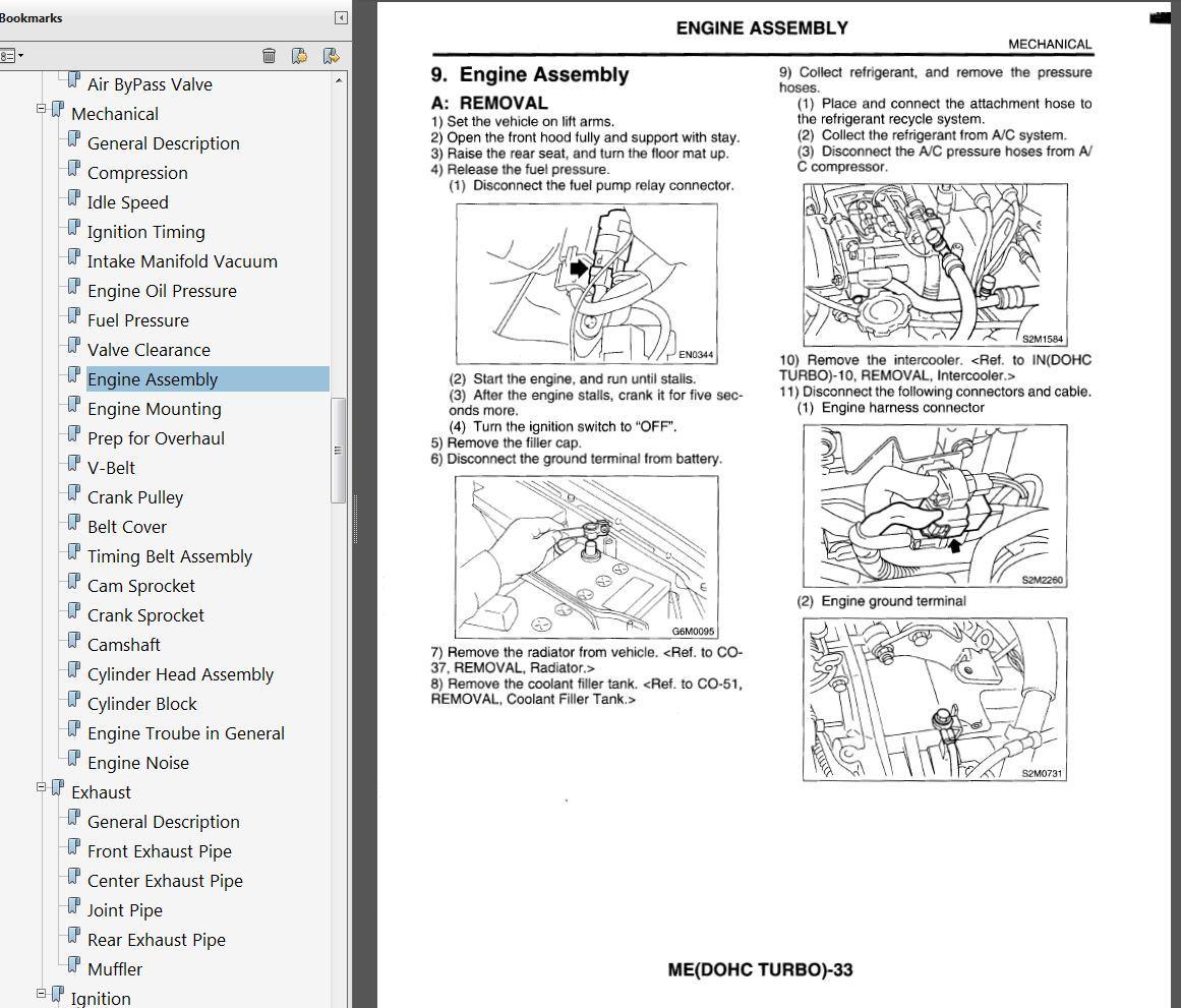 Bestseller: 2003 Subaru Impreza Wrx Service Manual