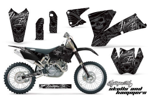 GRAPHICS KIT KTM 03-04 XC 01-02 SX 125/250/450/525/520
