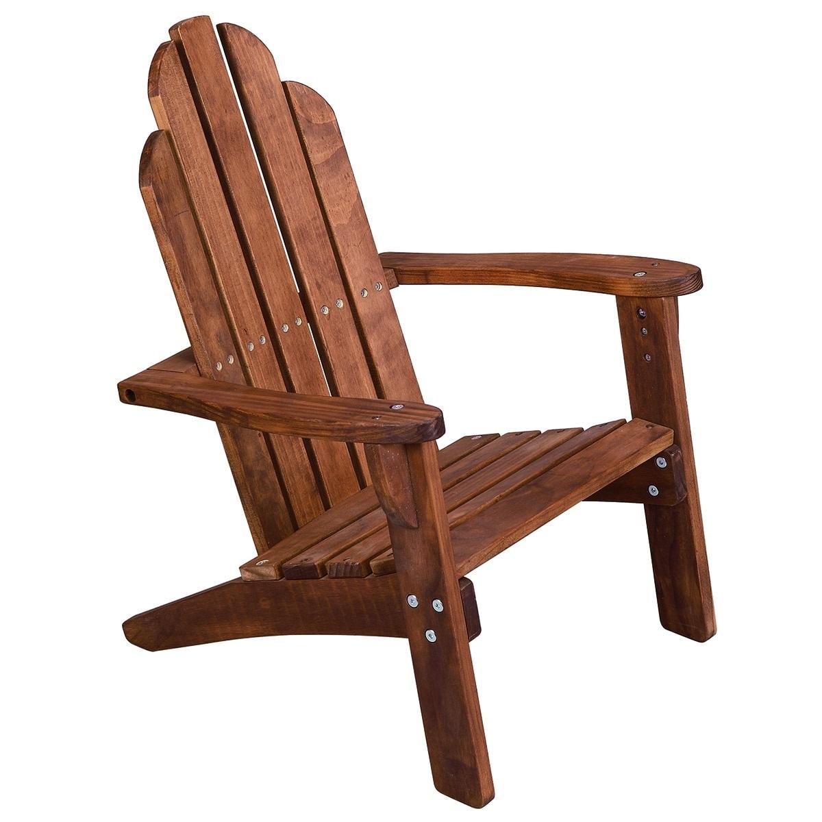 Wood Kids Adirondack Chair Baby Kid Child Indoor Outdoor