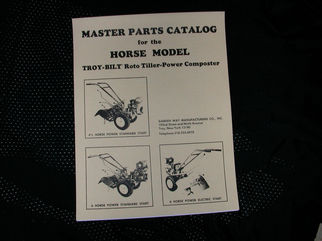 We Sell And Ship Troybilt Pony Tiller Parts