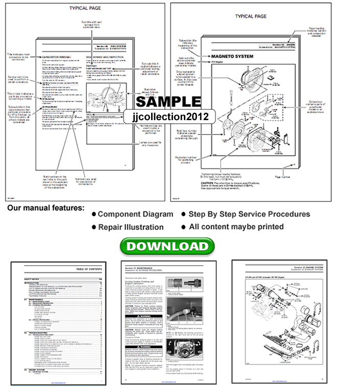 1993 SEADOO SP SPX SPI XP GTS GTX EXPLORER REPAIR MANUAL
