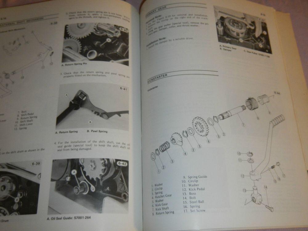 medium resolution of 1981 81 1982 82 kawasaki ar50 ar 50 ar80 ar 80 shop service