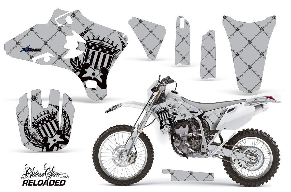 Shroud Graphics Kit Decal Wrap For Yamaha YZ250F YZ450F