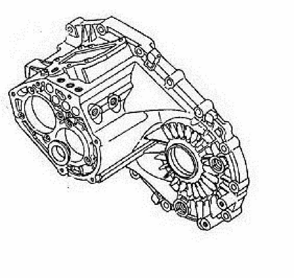 GM Transmission Case Part Number 97101479. GM Vehicles 5