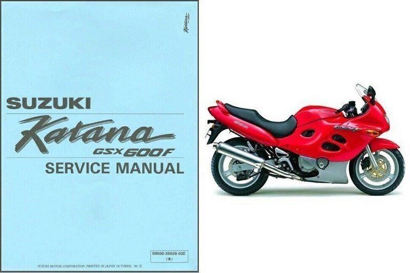 genuine suzuki gsx 600 gsx600 f katana
