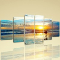 Large Landscape Hd Print Sunrise Wall Art Dining Room