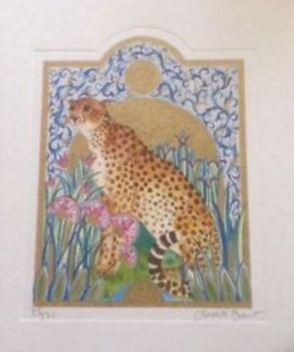 Of 375 Leopard In Jungle Vintage Prints Artist