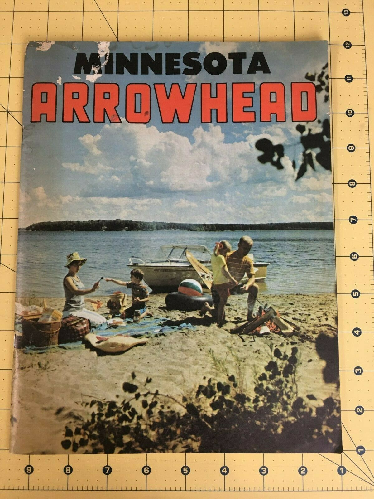 Vintage Minnesota Arrowhead Travel Vacation And 50 Similar Items